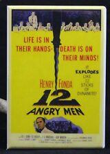"""12 Angry Men Movie Poster 2"""" X 3"""" Fridge / Locker Magnet. Henry Fonda"""