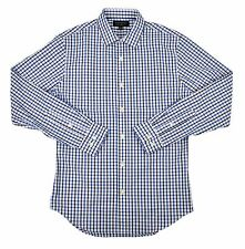 13391 Banana Republic Men's Slim Fit Non-Iron Shirt Royal Blue Large $64