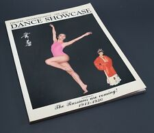 Vintage 1987 Issue Volume 1 DANCE SHOWCASE Theatre Arts Hong Kong Magazine