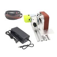 DIY Micro Belt Machine Electric Mini Polishing Sanding Machine Bench Sander