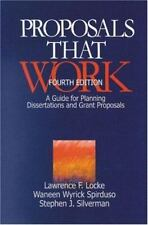Proposals That Work : A Guide for Planning Dissertations and Grant-ExLibrary