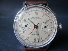 Vintage Thoresen Orator Large Chronograph watch 38mm in diameter Swiss Made