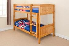 Pine Coil Spring Children's Beds with Mattresses