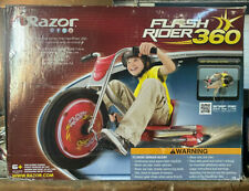 Razor Flash Rider 360 Caster Wheel Drifting Trike Ride On Tricycle New In Box