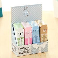 2 BOX (40pcs) Cute Bear 2B Lead Refills Tube 0.5mm Case Mechanical Pencils DSUK*