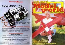 RADIO CONTROL MODEL WORLD MAGAZINE 1988 FEB ENYA VT-240, ARV SUPER 2