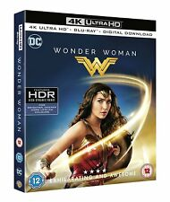 Wonder Woman [4K Ultra HD + Blu-ray + Digital Download] [2017] (4K Ultra HD)