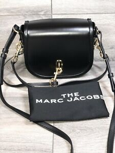 Mark Jacobs The Saddle Bag Leather Crossbody