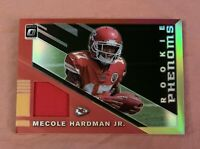 Mecole Hardman Jr. 2019 Donruss Optic Rookie Phenoms Jersey Red Yellow Holo #25