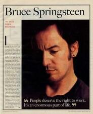 Bruce Springsteen Interview/article 1998 RST