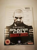 Tom Clancy's Splinter Cell Double Agent Nintendo Wii Game B187