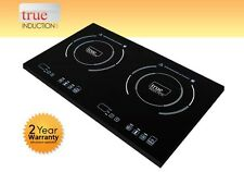 Cooktop True Induction TI-2B * Double Burner Cook top * Counter Inset Model TI2B