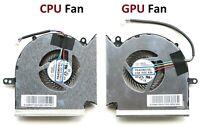 New Original CPU GPU Fan for MSI GE73 GE73VR GP73 GL73 PAAD06015SL-N383 N384