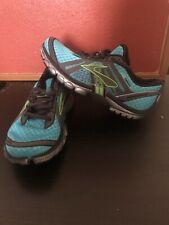Brooks PURE CADENCE BLUE/GRAY/BLACK Running Fitness Athletic Shoes Women SZ 5.5