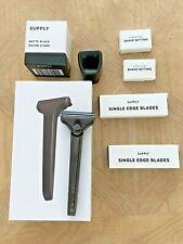 Supply Single Edge Razor W/stand and Blades