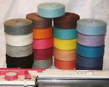 1000g = Lana de oveja lana lana virgen tejer gris oscuro 1kg