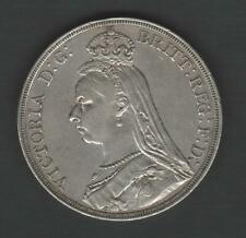 GREAT BRITAIN 1887 SILVER CROWN