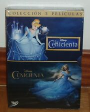 LA CENICIENTA CLASICO Nº 12+CENICIENTA CINDERELLA DISNEY 2 DVD NUEVO PRECINTADO
