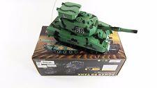 """Venta 10"""" Mini RC de radio control de potencia de disparo BB Militar Tiger Army Turbo Tanque"""