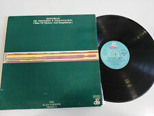 "THE ALAN PARSONS PROJECT HISTORIAS DE MISTERIO E IMAGINACION LP VINYL 12"" VINILO"