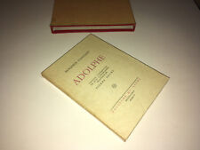 Benjamin Constant ADOLPHE 8 lithographies originales PIERRE NOURY 1946 Num DB99B