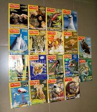 Lote 18 revistas La Tierra que todos desearíamos + pósters de animales