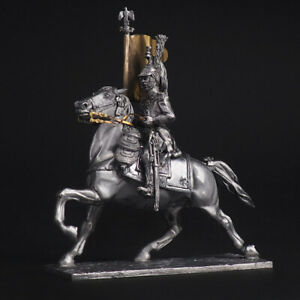 Tin soldier, Lieutenant standard bearer Dragoon of the Imperial Guard, 54 mm