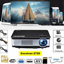 3D 3300Lumen-Multimedia-LED-Projector-1080P-HDMI VGA USB*2 AV,Resolution1024x768