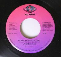 Soul Promo 45 Lynne & Sam - Going Home (To You) / Going Home (To You) On Tmi Rec