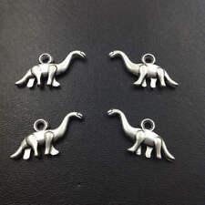Dinosaur,Charm Silver Alloy Pendants,Jewelry Finding Diy Accessories,10pcs