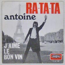 Tour Eiffell 45 tours Antoine 1970