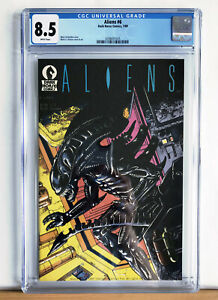 ALIENS #6  (Vol1) : CGC 8.5 : 1989 Dark Horse, Mark Verheiden, Mark Nelson, MCU