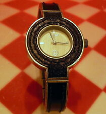 LUCKY BRAND Y121E 16/1017 WATCH - WORKS and GREAT SHAPE, NEW BATTERY INSTALLED