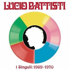 Lucio Battisti I Singoli 1969-1970 Box 5 45 Giri Record Store Day 2018 Nuovo