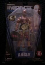 TNA Series 6 signed Kurt Angle 1/100 chase figure rare
