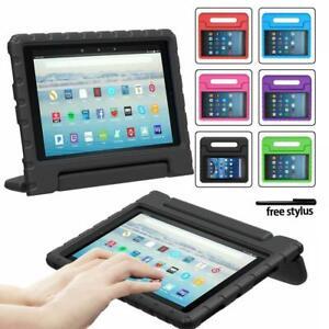 For Amazon Kindle Fire HD 8 / 8Plus 2020 - Handle EVA Foam Cover Stand Kids Case