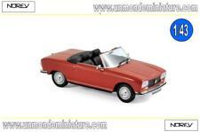 Peugeot 304 Cabriolet S de 1973 Red NOREV - NO 473412 - Echelle 1/43