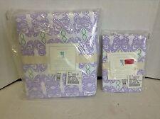 Pottery Barn Kids Spring Butterfly Duvet Lavender Purple Full Queen F/Q sham