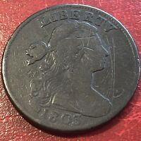 1803 Draped Bust Large Cent Better Grade  Rare #13628