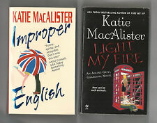 (2) by KATIE MacALISTER // IMPROPER ENGLISH & LIGHT MY FIRE (AISLING GREY NOVEL)