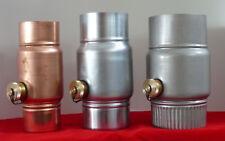 Regenwassersammler NW 80/100/120 mm aus Kupfer, Titanzink, Edelstahl