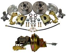 1964-1972 GM A,F,X Body Disc Brake Kit Stock Height Camaro, Chevelle, Nova, GTO
