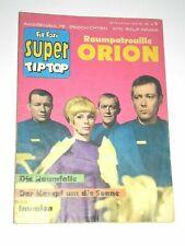 SUPER Tip Top 6 , sehr guter Zust., Kauka 1967, RAUMPATROUILLE Raumschiff ORION
