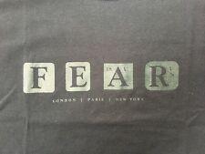 Marillion FEAR T-Shirt - NEW - Official Merchandise