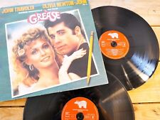 GREASE JOHN TRAVOLTA OLIVIA NEWTON-JOHN LP 33T VINYLE EX COVER EX ORIGINAL 1978