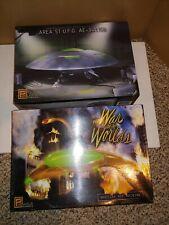 3 Vintage Mib 90s Ufo Pegasus Model Kits,Area 51,War Of The Worlds,F/S Parts Bag