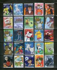 JAPAN : 25 DIFF. LARGE COMMEMORATIVES ON 'ANIMATION', FU, # 27-a
