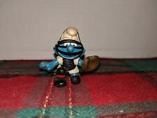 Smurfs Baseball Catcher Smurf Vintage 1981 Figure Toy Peyo Schleich Hong Kong