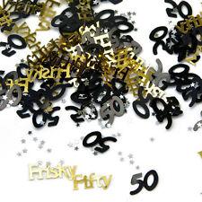 Frisky 50 50th Birthday Confetti  - Table Decoration Party Sprinkles - 14G