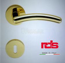 Maniglia RDS GAND art. 0661 Oro PVD maniglie per porte RDS porte interne